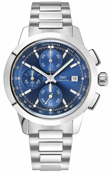 IWC Ingenieur Chronograph Blue Dial Men's Watch IW380802