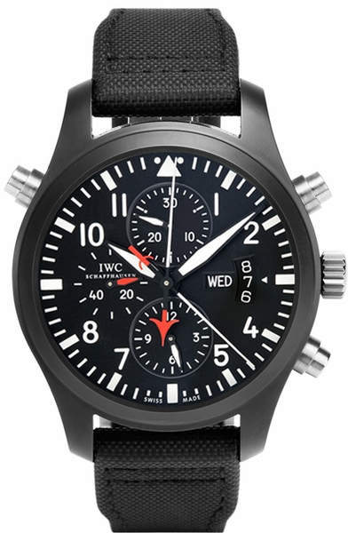 IWC Pilot's Automatic Chronograph Top Gun IW379901