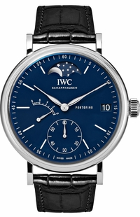 IWC Portofino Hand-Wound Moon Phase 150 Years Men's Watch IW516405