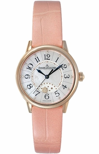 Jaeger LeCoultre Rendez-Vous Night & Day Pearl White Dial Women's Watch Q3462590