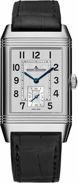 Jaeger LeCoultre Reverso Classic Large Duoface Small Second Men's Watch Q3848420
