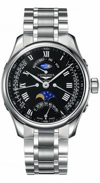 Longines Master Collection Black Dial Men's Watch L2.738.4.51.6
