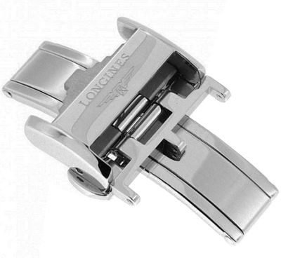 Longines 20mm Steel Deployment Buckle L639119748