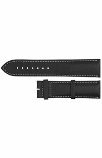 Longines 21mm Black Leather Strap L682124852