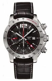 Longines Admiral GMT Chronograph L3.670.4.56.2