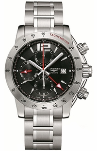 Longines Admiral GMT Chronograph L3.670.4.56.6