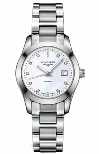 Longines Conquest Caliber L595 Women's Dress Watch Watch L2.285.4.87.6