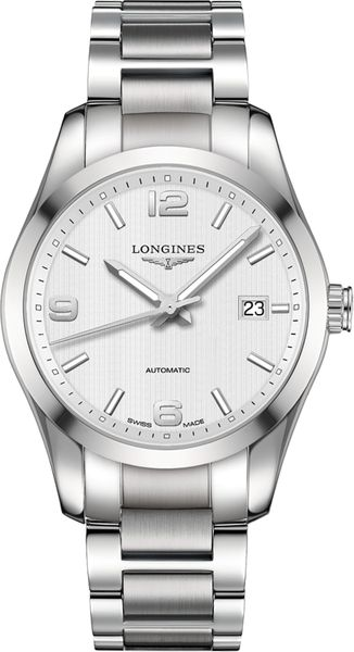 Longines Conquest Classic Silver Dial Men's Watch L2.785.4.76.6