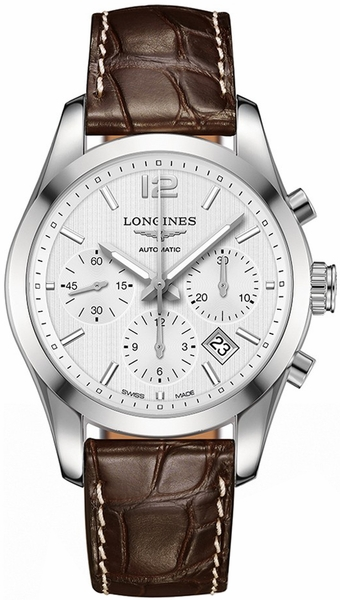Longines Conquest Classic Automatic Chronograph Men's Watch L2.786.4.76.3