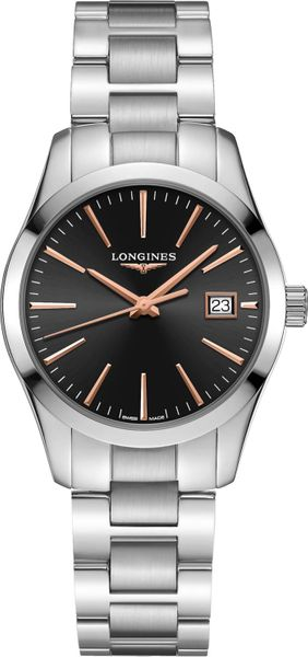 Longines Conquest Classic Black Dial Women's Watch L2.386.4.52.6