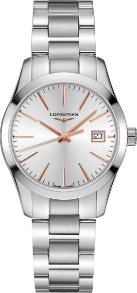 Longines Conquest Classic Silver Dial Women's Watch L2.386.4.72.6