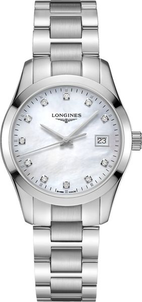 Longines Conquest Classic Quartz Women's Watch L2.386.4.87.6