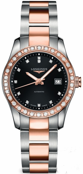 Longines Conquest Classic Diamond Ladies Watch L2.285.5.57.7