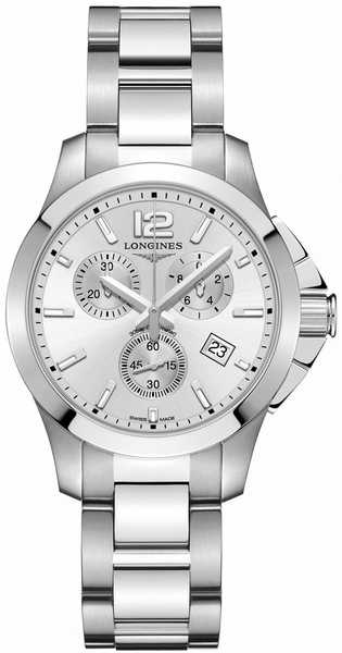 Longines Conquest Quartz Chronograph Men's Watch L3.379.4.76.6