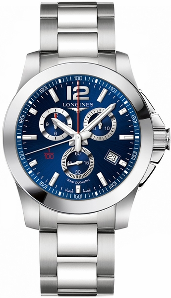 Longines Conquest Blue Dial Men's Sport Watch L3.800.4.96.6