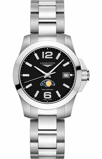 Longines Conquest Quartz Moon Phase Women's Watch L3.381.4.58.6