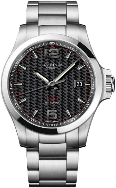 Longines Conquest V.H.P. Stainless Steel Men's Watch L3.726.4.66.6
