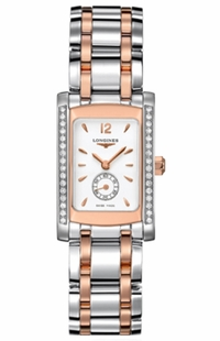 Longines DolceVita Diamond Luxury Watch L5.155.5.19.7