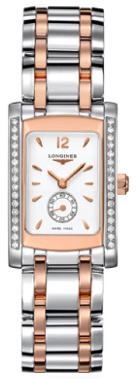 Longines DolceVita Diamond Luxury Watch L5.155.5.19.7 Rose Gold Women's Watches