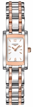Longines DolceVita Rose Gold Stainless Steel Women's Watch L5.158.5.18.7