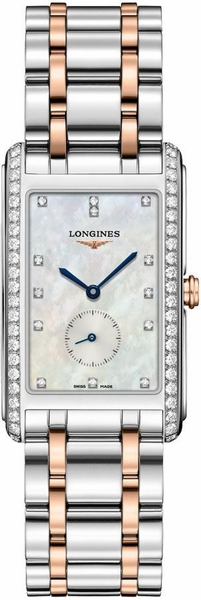 Longines DolceVita Rectangular Luxury Men's Watch L5.755.5.89.7