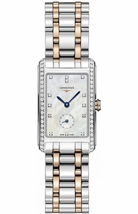 Longines DolceVita Pearl White & Diamond Dial Women's Watch L5.512.5.89.7