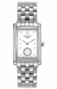 Longines DolceVita White Dial & Diamonds Women's Watch L5.502.0.16.6