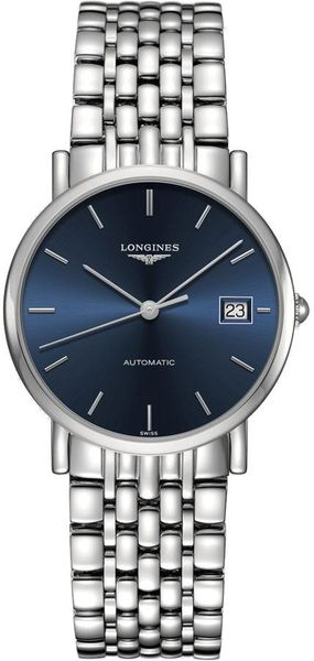 Longines Elegant Collection Blue Dial Women's Watch L4.809.4.92.6