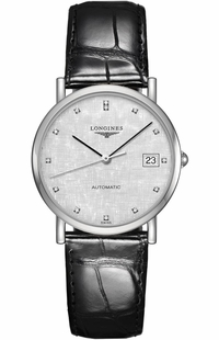 Longines Elegant Collection Silver Dial Women's Watch L4.809.4.77.2