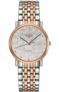 Longines Elegant Collection Two Tone Women's Watch L4.809.5.77.7