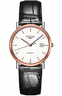 Longines Elegant Collection White Dial Women's Watch L4.809.5.12.0