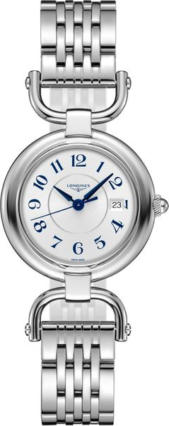 Longines Equestrian Collection 30mm Steel Women's Watch L6.131.4.73.6