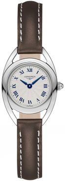 Longines Equestrian Collection Silver Dial Women's Watch L6.135.4.71.2