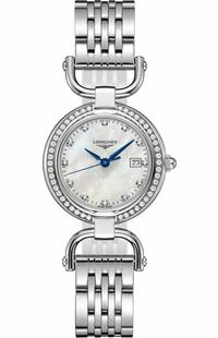 Longines Equestrian Diamond Hour Markers Women's Watch L6.131.0.87.6