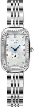 Longines Equestrian White Mother of Pearl Women's Watch L6.141.0.87.6
