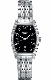 Longines Evidenza Black Dial Luxury Watch Sale L2.155.0.53.6