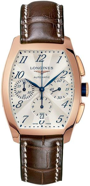 Longines Evidenza Rose Gold Men's Watch L2.643.8.73.2