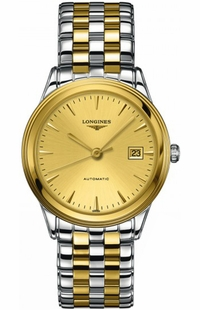 Longines Flagship Automatic Gold Dial Men's Watch L4.874.3.32.7