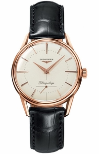 Longines Flagship Heritage 18k Rose Gold Men's Watch L4.746.8.72.0