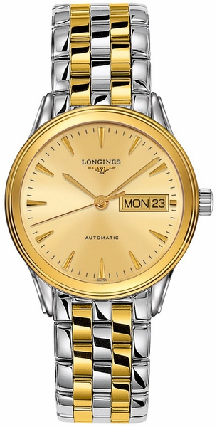 Longines Flagship Gold Dial Automatic Men's Watch L4.799.3.32.7