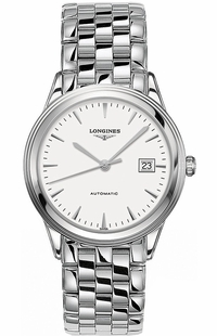 Longines Flagship Automatic White Dial Steel Men's Watch L4.874.4.12.6