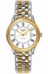 Longines Flagship Two Tone Automatic Men's Watch L4.774.3.21.7