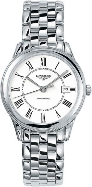 Longines Flagship White Dial Men's Watch L4.774.4.21.6