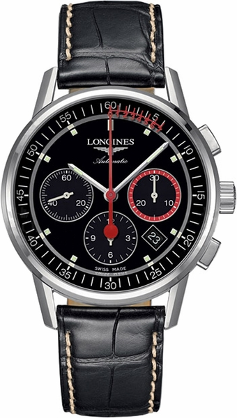 Longines Heritage Column Wheel Chronograph Men's Watch L4.754.4.52.4