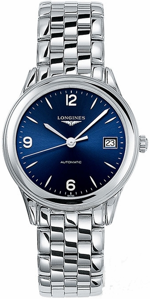 Longines Flagship Automatic Blue Dial Men's Watch L4.774.4.96.6