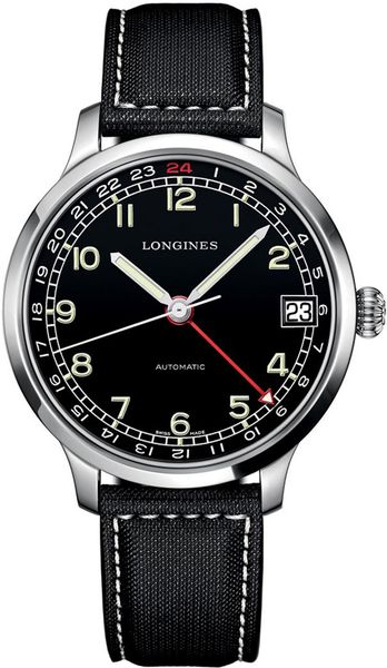 Longines Heritage Military GMT Men's Watch L2.789.4.53.0