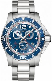 Longines Hydroconquest Blue Dial Men' Watch L3.843.4.96.6