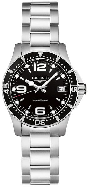 Longines HydroConquest Ladies Quartz Diving Watch L3.340.4.56.6