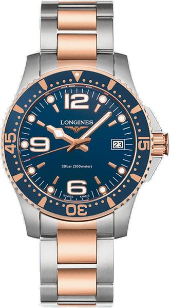 Longines Hydroconquest Quartz 34mm Women's Watch L3.340.3.98.7