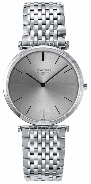 Longines La Grande Classique Silver Dial & Solid White Gold Women's Watch L4.691.6.72.6